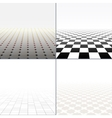 Abstract background with perspective vector image vector image