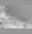 fog or smoke vector image vector image