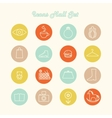 icons design set vector image