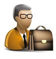 Lawyer icon vector image