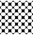 Oval and square seamless pattern vector image