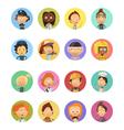 People Profession Cartoon Avatars Set vector image vector image