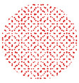 random polka 0 13 01 vector image vector image