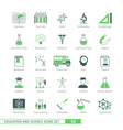 Science Icons Set 02 vector image vector image