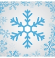 snow flake icon vector image vector image