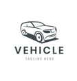 vehicle logo template car icon for business vector image vector image