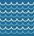 wave pattern abstract seamless sea background vector image vector image