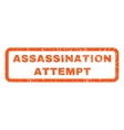 Assassination Attempt Rubber Stamp vector image vector image