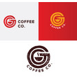 coffee logo coffee icon vector image
