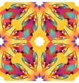 Colorful seamless pattern with free shape vector image vector image