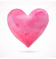 heart-pink-simple vector image vector image