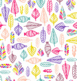 Natural Seamless Pattern vector image