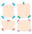 paper templates in four styles vector image