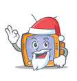 Santa tv character cartoon object
