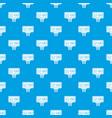 scoreboard pattern seamless blue vector image vector image