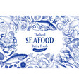 seafood frame can be use for vector image