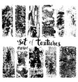 set of texture vector image