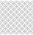 Simple seamless rhombus pattern vector image