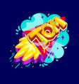 tom name rocket vector image vector image