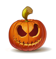 Pumpkins Scary 1 vector image