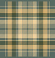diagonal fabric texture check plaid seamless vector image vector image