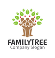 Family Tree Design vector image vector image