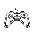 gamepad for play arcade video game vector image vector image