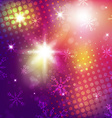 Magical Christmas Background vector image vector image