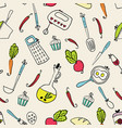 pattern of kitchen utensils design elements of vector image