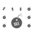 sale icon sale and discount vector image vector image
