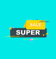 super sale minimum geometric background dynamic vector image