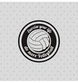 volleyball league design vector image vector image