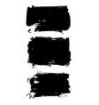 Ink Stroke Set vector image