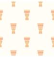 Tribal Drum Print vector image