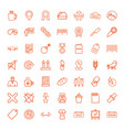 49 label icons vector image vector image
