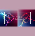 abstract background with color light vector image vector image