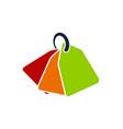Bundle shopping logo design template
