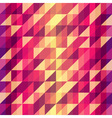 Colorful geometric Retro pattern vector image vector image