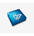 email web icon vector image