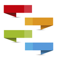 Information menu banner - tagline vector image vector image