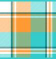 madras check plaid light seamless pattern vector image vector image