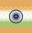 pattern flag patriotic indian with ashoka