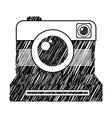photographic icon vector image