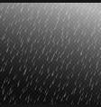 rain isolated vector image vector image