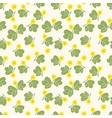 Summer floral seamless pattern vector image vector image