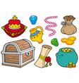 treasure collection vector image
