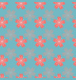 beautiful abstract cherry blossom seamless pattern vector image vector image