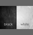 black and white grunge wall textural background vector image vector image