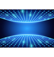 Blue Spotlights Background vector image vector image