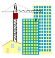 building and home vector image